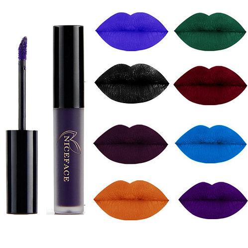 9 Color Liquid Lipstick Waterproof
