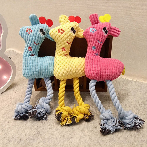 1Pcs Puppy Pet Toys for Small Dogs Fleece Resistance to Bite