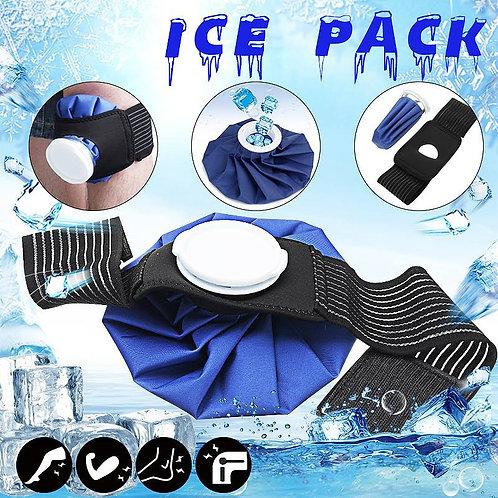 9'' Ice Bag Pack Protector Elastic Tie Belt Set Reusable