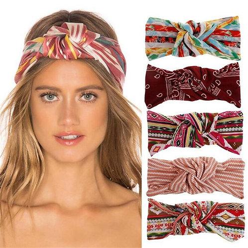 1 Pc New Fashion Women Girls Boho Style Cotton Headband