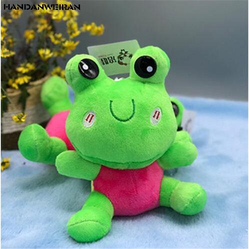 19CM Stuffed Plush Toys New 1Pcs Frog Plush Toy