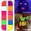 Thumbnail: 12 Colors/Box Fluorescent Neon Pigment Eye Shadow