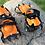 Thumbnail: Adjustable 10 Teeth Crampons Manganese Steel Climbing