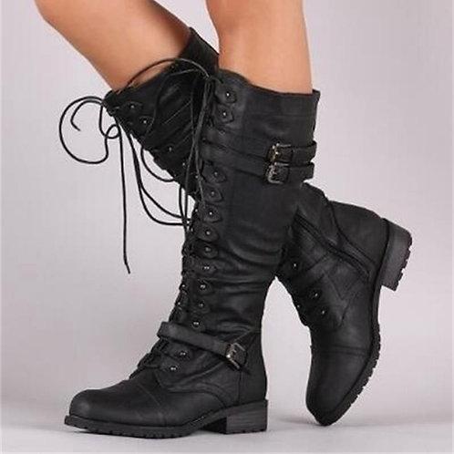 Buckle Ladies Snow Boots