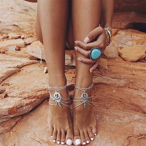 Boho Anklet Foot Chain Ankle Summer Bracelet
