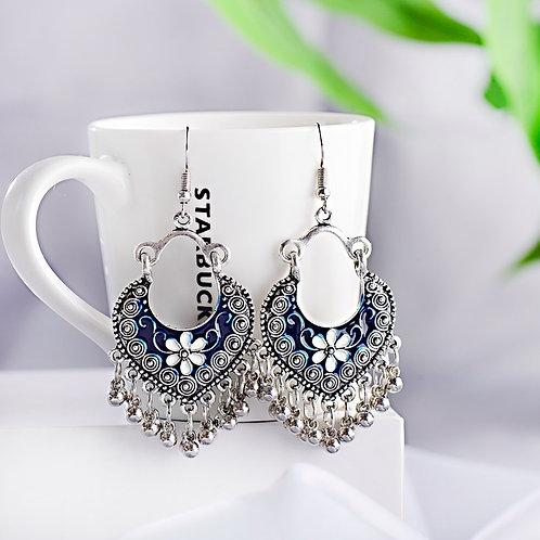 Boho Gypsy Tassel Indian Drop Earrings