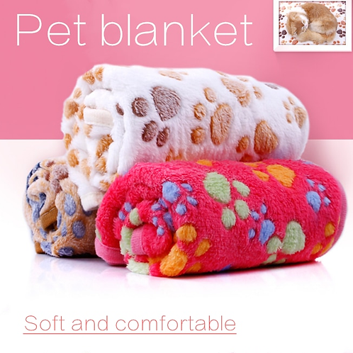 3 Colors 40x60cm 75x50cm Cute Floral Pet Sleep Warm