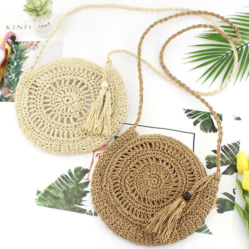2020 Summer Women Straw Bag Rattan Woven