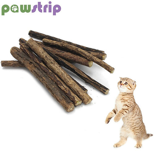 10pcs/Lot Natural Catnip Cat Toy Pet Molar Toothpaste