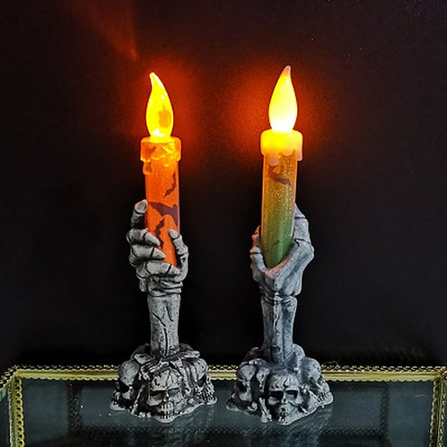 2020 Ghost Hand Candle LED Electronic Skeleton Candle Light