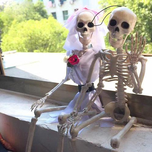 1Pairs/Lot Halloween Decorations Horror Simulation Skeleton