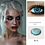 Thumbnail: 2 Pieces / Pair of Beautiful Student Eye Cosmetics Color