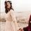 Thumbnail: Boho  Pink Blush Lace  Wrap Dress  #1124