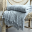 Thumbnail: 170X130cm Knitted Solid Sofa Throw Blanket