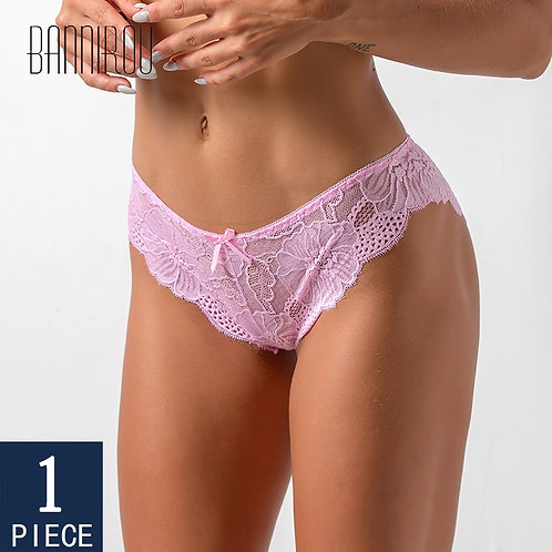 BANNIROU Underwear for Woman Sexy Lace Briefs