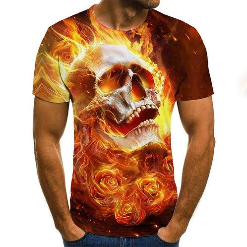 2020 New Horror Men's T-Shirt Summer Fashion Tops