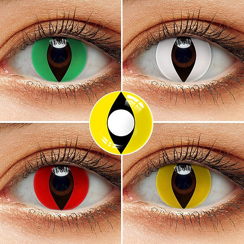 1 Pair (2pcs) Cosplay Contact Lenses for Eyes