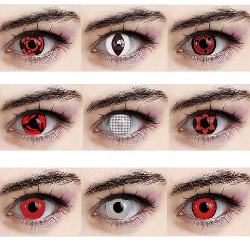 2pcs/Pair Cosplay Series Colored Contact Lenses for Eyes