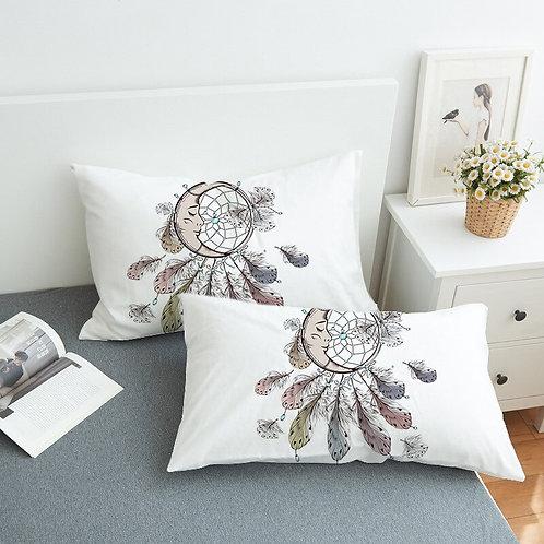 1pcs Dream Catcher Pillow Case Brown Boho Pillowcase