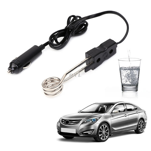 24V Portable Electric Car Boiled Water Tea Immersion Heater for Camping Picnic