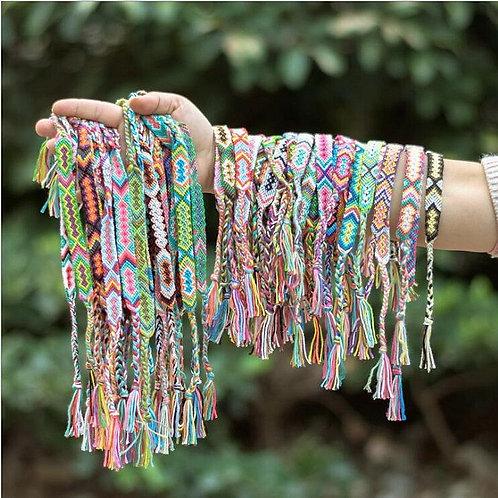 ABL242(1), 1.5cm Wide Retro Handmade Boho Bracelets