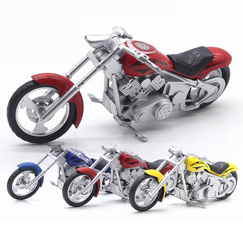 Alloy Model Simulation Classic Harley Motorcycle  Simulation Sound and Light