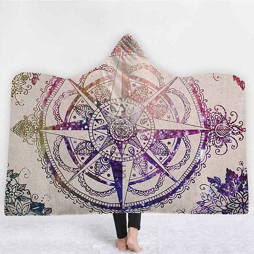 2020 India Mandala Blankets Endless Bohemian Hooded Blanket