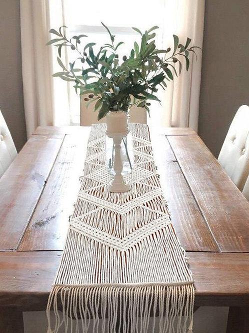 Boho Wedding Table Tablecloth Flag Table Runner