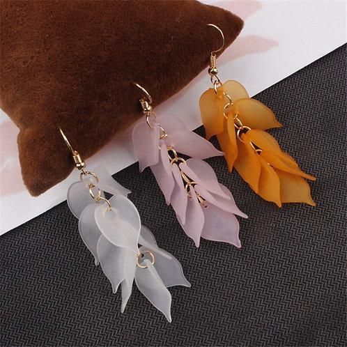 2019 New Flower Handmade Bohemia Boho Earrings Women Fashion