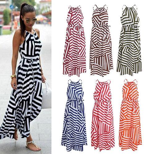 7 Colors Women Sexy Summer Dress Boho Maxi Long
