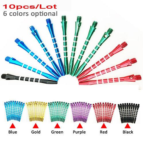 10pcs/Lot 53mm Aluminum Medium Darts Shaft Harrows