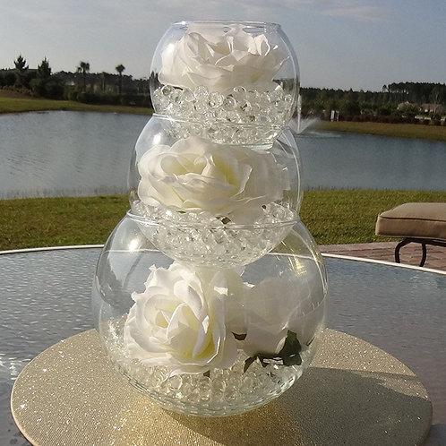 100pcs Magic Crystal Soil Water Beads Balls Flower