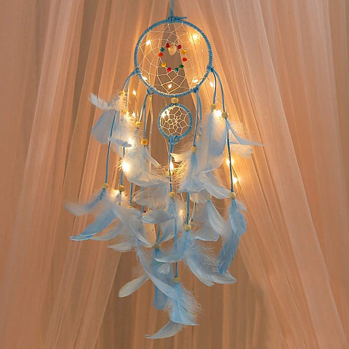 2 Meters Lighting Dream Catcher Hanging DIY 20 LED