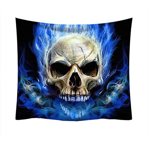 2020 New Skull Printed Tapestry