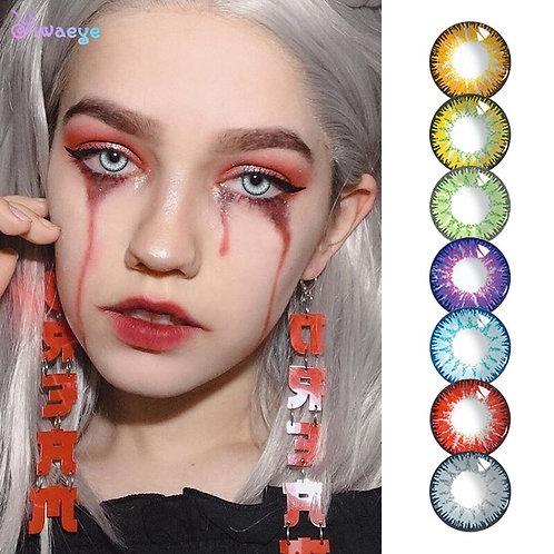 2Pcs/1Pair Beautiful Pupil Cosmetic Contact Lens for Eyes