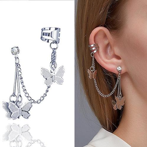 1 PC Trendy Pop Butterfly Drop Earrings for Women Boho