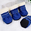 Thumbnail: 4pcs Winter Dog Pet Shoes Anti-Slip Snow Boots