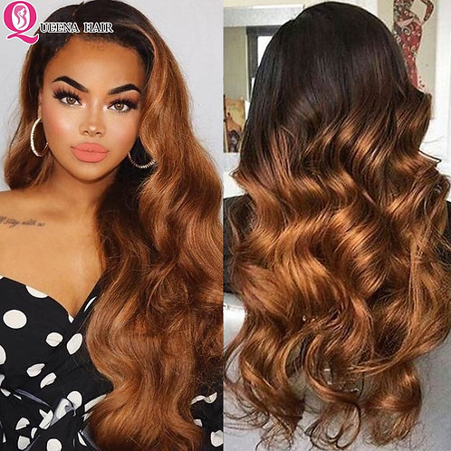 Blonde Lace Front Wig Body Wave Frontal Wig