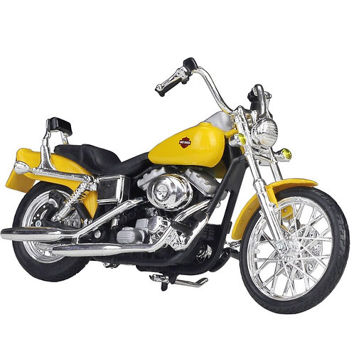 2001 FXDWG Dyna Wide Glide Alloy Motorcycle Diecast