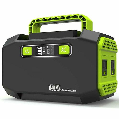 AC 110V 220V 167Wh Portable Solar Power Generator