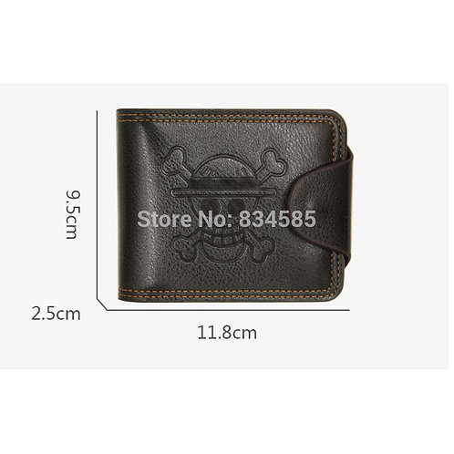 Anime One Piece Synthetic Leather Wallet Embossed