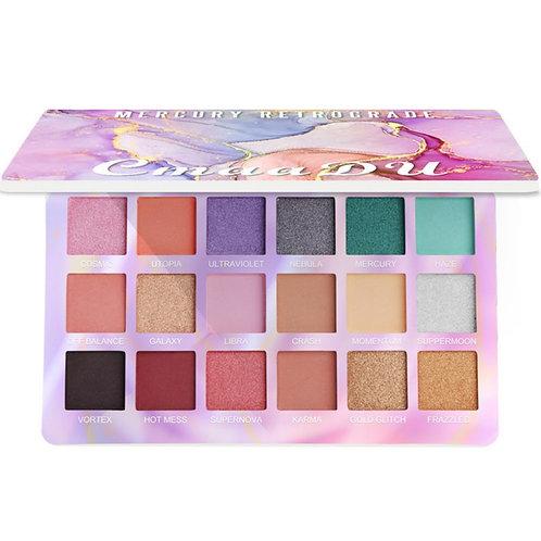 18 Color Shiny Eyeshadow Palette Waterproof Matte Eye