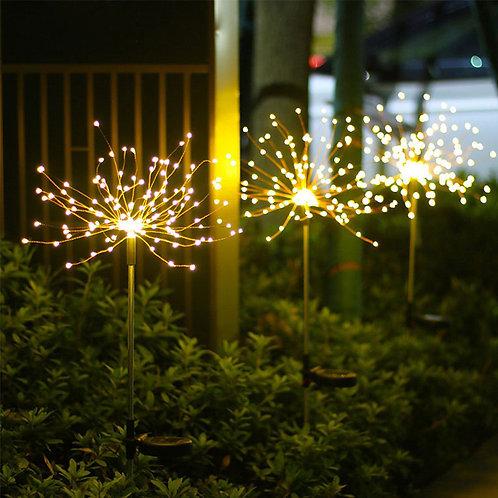 150 LED Solar Garden Light Flashing Fireworks Led Solar Lamp