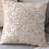 Thumbnail: Beige Euro Rope Thread Embroidery Cushion Cover  Cover 50x50cm Pillow