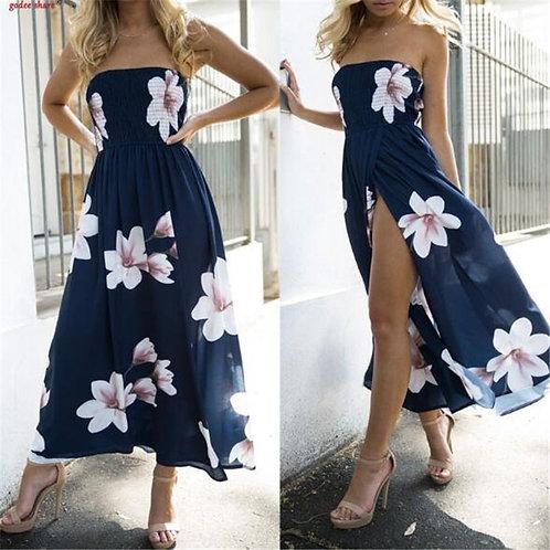 2020 Bohemian Beach Dress Women Summer Casual