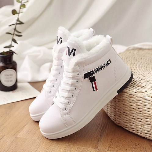 2019 Winter Boots Women Ankle Boots Warm