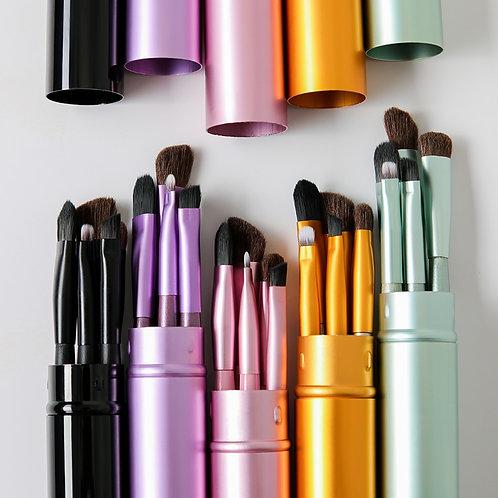 BBL 5pcs Travel Portable Mini Eye Makeup Brushes