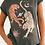 Thumbnail: Boho Inspired Retro Tshirt Women Tigers Print Graphic Tees