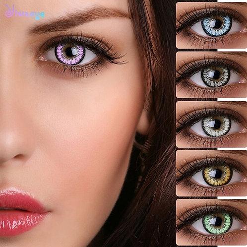 2pcs/Pair Honey Series Colored Contact Lenses Beauty Pupil