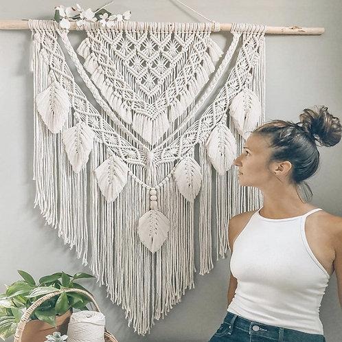 Big Size Macrame Tapestry Wall Hanging Bohemian